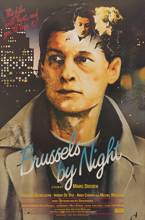 Affiche BRUSSELS BY NIGHT
