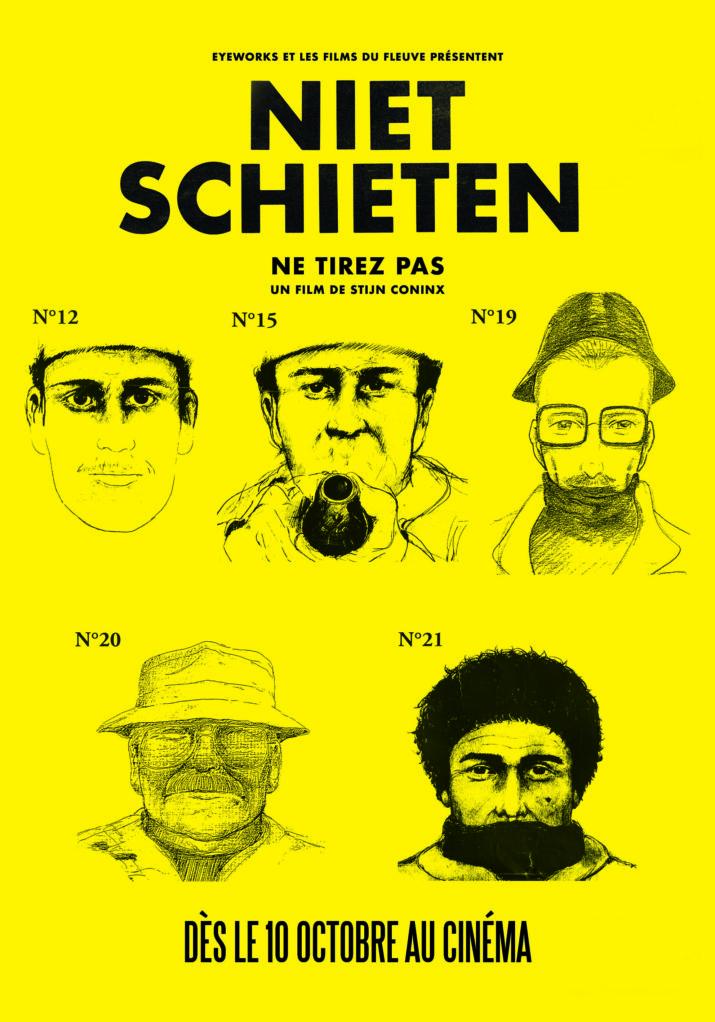 Affiche NE TIREZ PAS