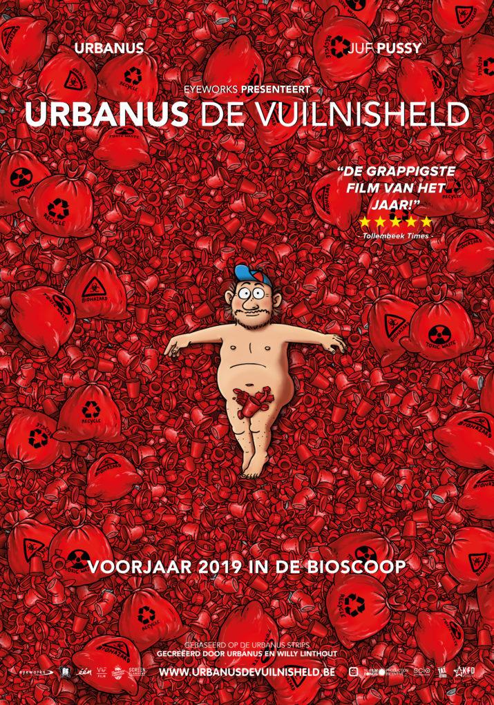 Affiche Urbanus, De Vuilnisheld